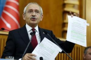 15 oktober, KemalKilicdaroglu in het Turkse parlement